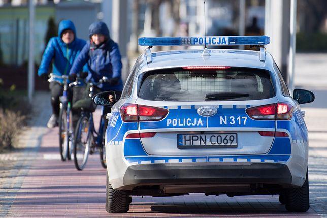 Ekspresówką na rowerze. Mężczyznę zatrzymała policja (zdjęcie ilustracyjne)