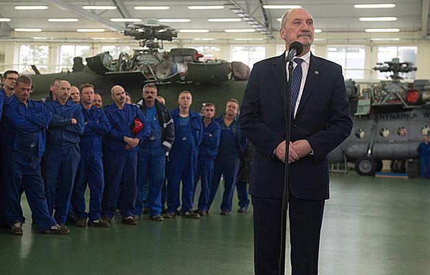 Minister Antoni Macierewicz: wybrano samolot dla VIP-ów