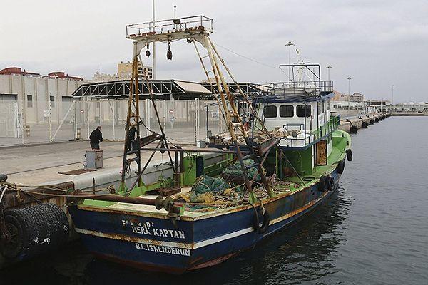 Statek, na pokładzie którego znaleziono 12 ton haszyszu