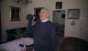 Ma 95 lat, a wigoru może mu pozazdrościć niejeden nastolatek