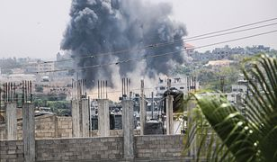 Strefa Gazy aatakowana przez Izreal. Trzy osoby nie żyją.