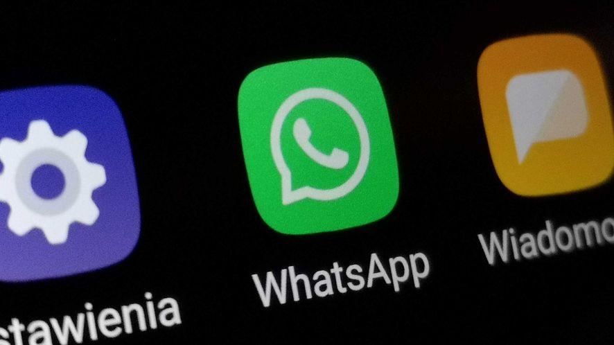 Uważaj na podejrzane wiadomości na WhatsAppie, fot. Oskar Ziomek