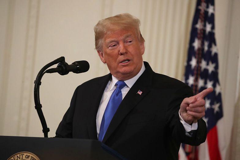 Prymitywna kpina Donalda Trumpa z przeciwnika. Zobacz zdjęcie Joe Bidena