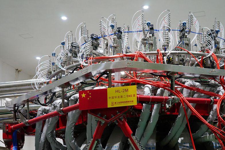 """Chiny zbudowały """"sztuczne słońce"""". Jest 10 razy mocniejsze od prawdziwego"""