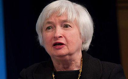 Notowania dolara pod wpływem słów szefowej Fed