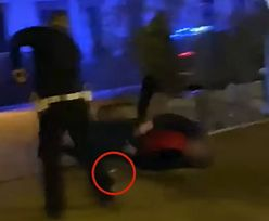 Mazowieckie. Szedł na policjanta z tulipanem w ręku. Padły trzy strzały