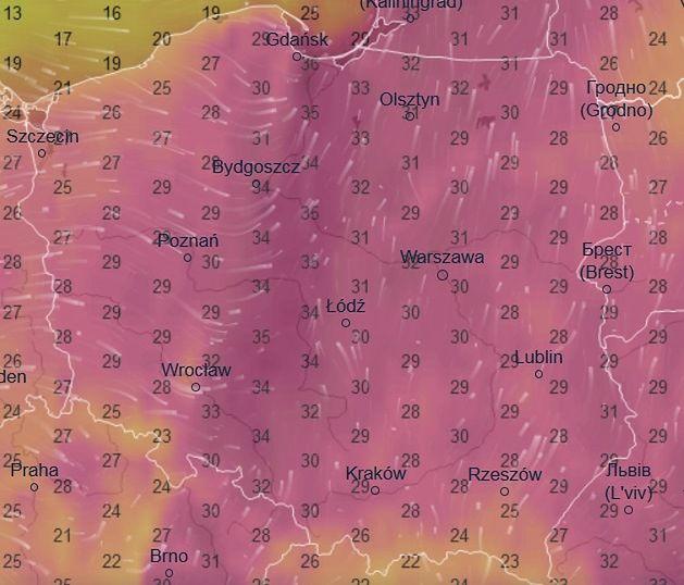 Tak będzie wyglądać pogoda w czwartek