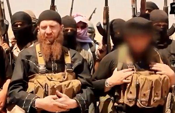 Kadr z nagraniem ukazującym Al-Sziszaniego