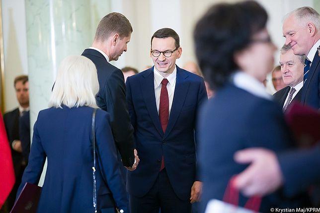 Premier Mateusz Morawiecki planuje spotkania z ministrami.