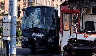 Gdańsk. Obywatel Niemiec usłyszał zarzuty za zderzenie autobusu z tramwajem
