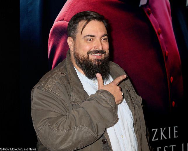 """Tomasz Sekielski na premierze filmu """"Kler"""""""