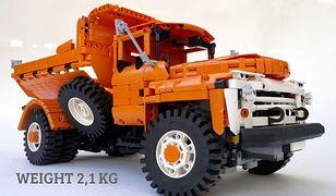 Ził 130 zbudowany z klocków Lego przez Polaka