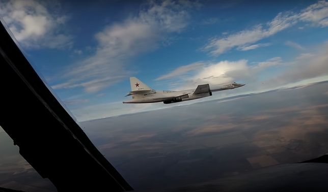 Rosyjskie bombowce Tu-160 przeleciały blisko polskiej granicy