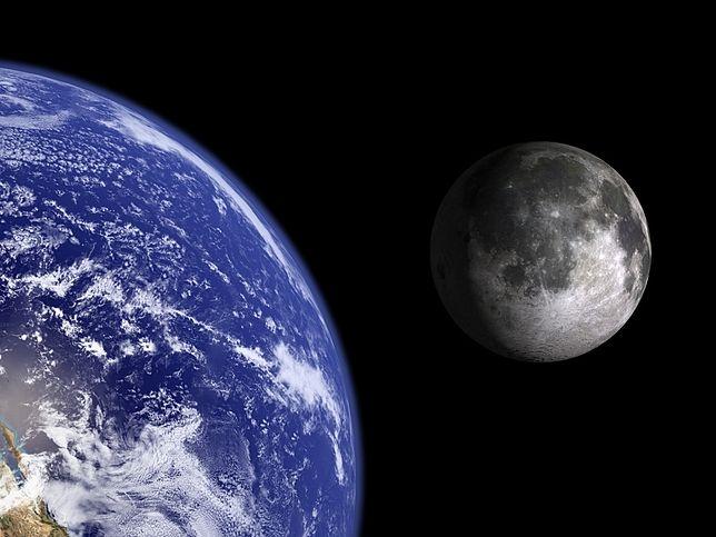 Ziemia mogła mieć jeszcze do niedawna dwa Księżyce. Naukowcy komentują