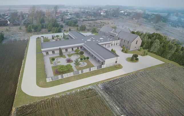Projekt wiejskiego hospicjum na Podlasiu