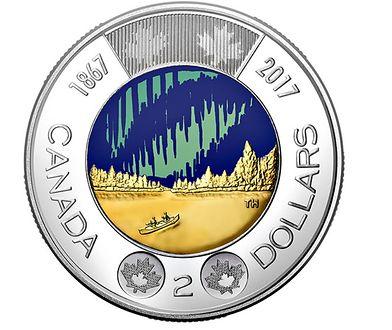 Kanada wypuściła pierwszą na świecie monetę świecącą w ciemności
