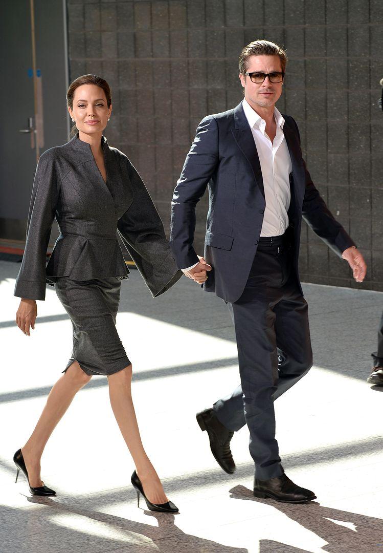 """Angelina Jolie wściekła na Brada Pitta. """"Niech się zachowa jak ojciec"""""""