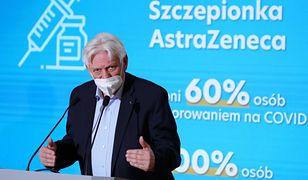 Koronawirus w Polsce. Prof. Andrzej Horban komentował przyrost przypadków