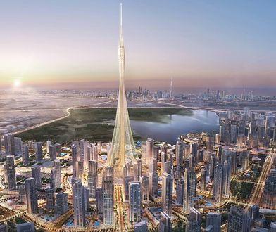 Dubai Creek Tower ma zostać ukończony w 2020 r. Docelowo będzie mierzyć ok. 930 m