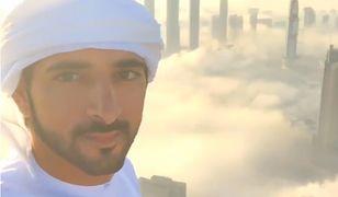 Książę Dubaju kręci wideo w chmurach i podbija internet