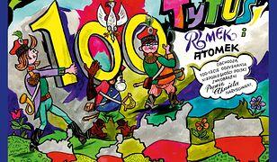 Tytus, Romek i A'Tomek obchodzą 100-lecie odzyskania niepodległości Polski z wyobraźni Papcia Chmiela narysowani