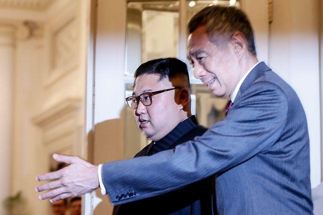 Kim Dzong Un i premier Singapuru Lee Hsien Loong