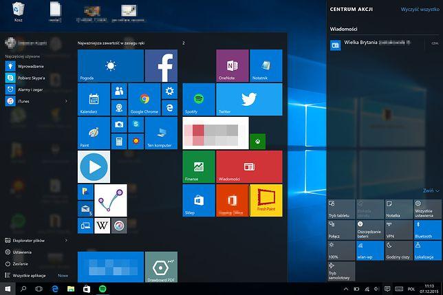 Windows 10: w aktualizacji Microsoft stawia na prywatność użytkowników