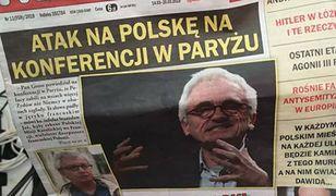 Kancelaria Sejmu postanowiła jednak zająć się sprawą antysemickiego czasopisma