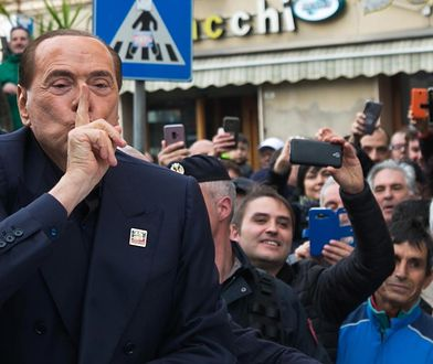 Silvio Berlusconi podczas wizyty na Sardynii ogłosił udział w wyborach do Parlamentu Europejskiego