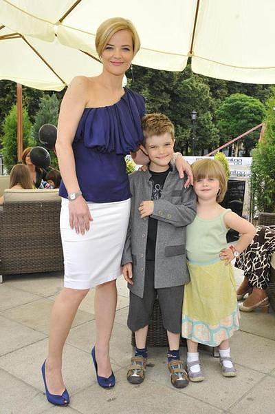 Monika Richardson z dziećmi