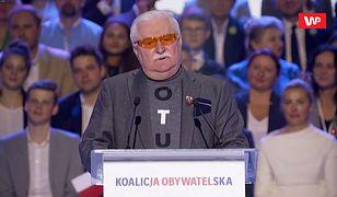 Konwencja KO. Lech Wałęsa o powodach przegranej KO: nie słuchacie mnie
