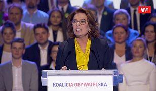 Poruszające słowa Małgorzaty Kidawy-Błońskiej: Ludziom pęka serce
