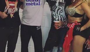 Gwiazdy bawiły się na koncercie Guns N' Roses