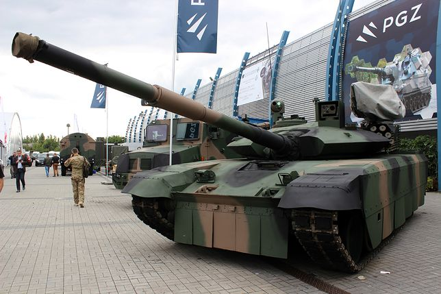 To model demonstracyjny najnowszego czołgu. Polska Grupa Zbrojeniowa potrzebuje 20 mln zł na prototyp.