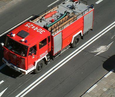 Osoba poszkodowana w wyniku wybuchu została lekko ranna