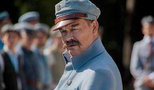 W rolę Józefa Piłsudskiego wcielił się Jan Frycz