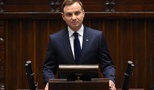 Andrzej Duda komentuje pożar katedry Notre Dame
