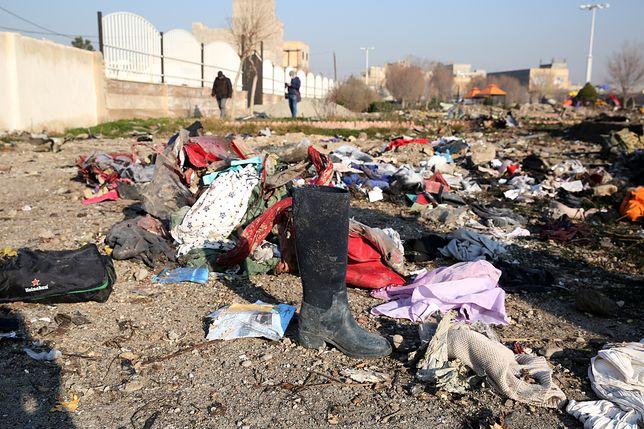 Ukraiński boeing 737 rozbił się w okolicach miejscowości Parand pod Teheranem