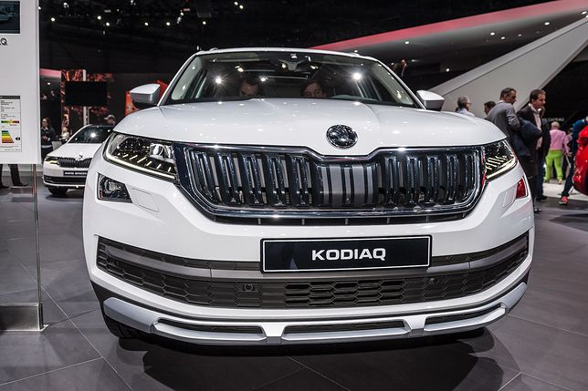 Škoda Kodiaq na salonie samochodowym w Genewie (2017)