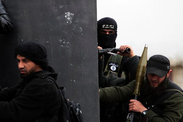 Bojownicy Frontu Obrony Ludności Lewantu ((Dżabhat al-Nusra)