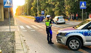 Białystok. Rowerzysta śmiertelnie potrącony na ścieżce. Zginął na miejscu