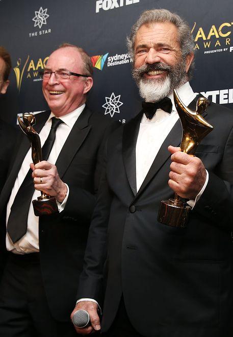 Bruce Davey i Mel Gibson, Sydney, 2016