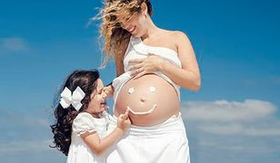 W czym na plażę w ciąży?