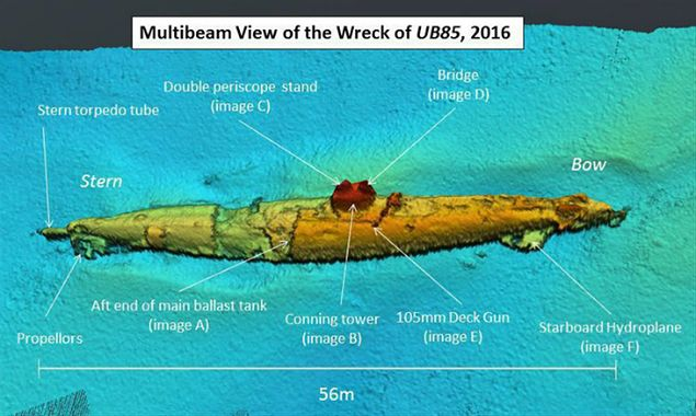 Odnaleziono wrak niemieckiego okrętu podwodnego z I wojny światowej. Znalezisko prowokuje do fantastycznych teorii