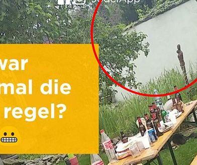 Nad tym zdjęciem zastanawiają się setki internautów. To mur czy rzeka?