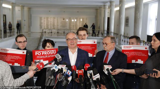 """Lider SLD Włodzimierz Czarzasty przedstawił szczegóły programu """"Po Prostu Mieszkanie!"""""""