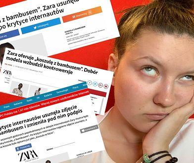 Zara stała się bohaterem internetowej afery