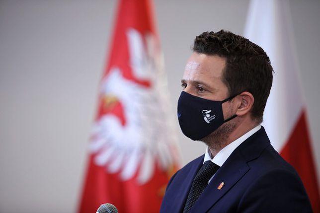 Warszawa. Rafał Trzaskowski podsumował dwa lata swojej prezydentury
