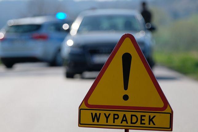 Warszawa. Doszło do kolizji dwóch samochodów