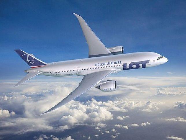 Dreamliner LOT-u wylądował w Warszawie!